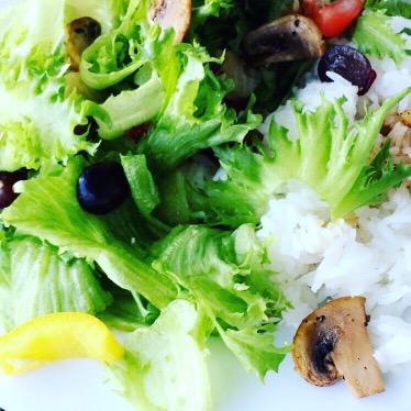 Søtsalt salat